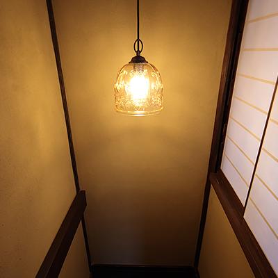 階段上の空間