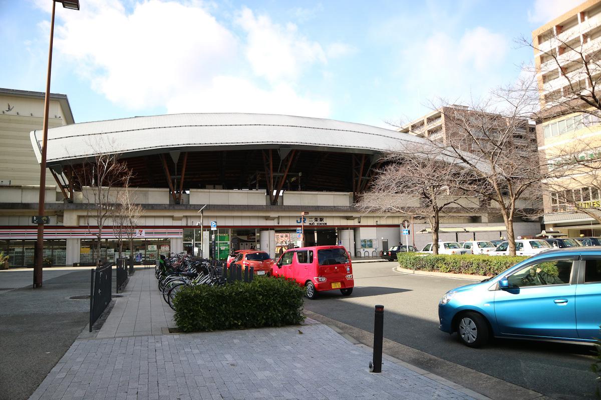 JR山陰本線「二条駅」