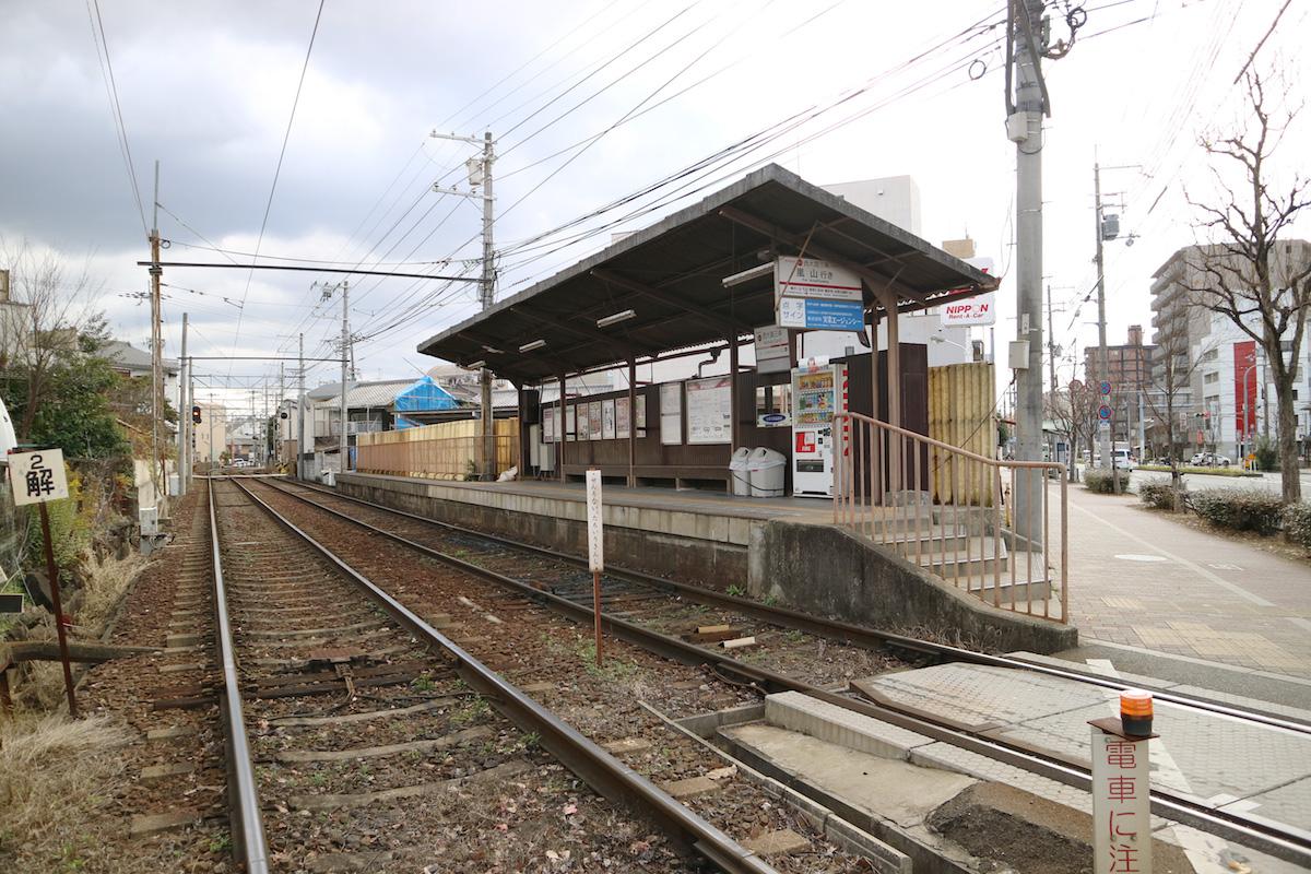 京福電気鉄道嵐山本線「西大路三条駅」